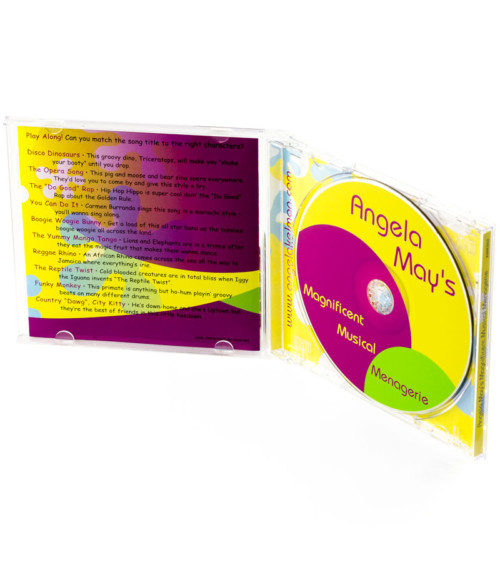 Angela May's Magnificent Musical Menagerie inside CD