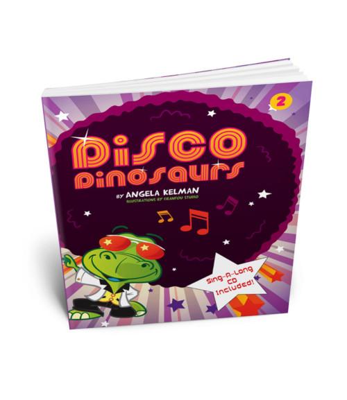 Disco Dinosaurs Sing-Along Book