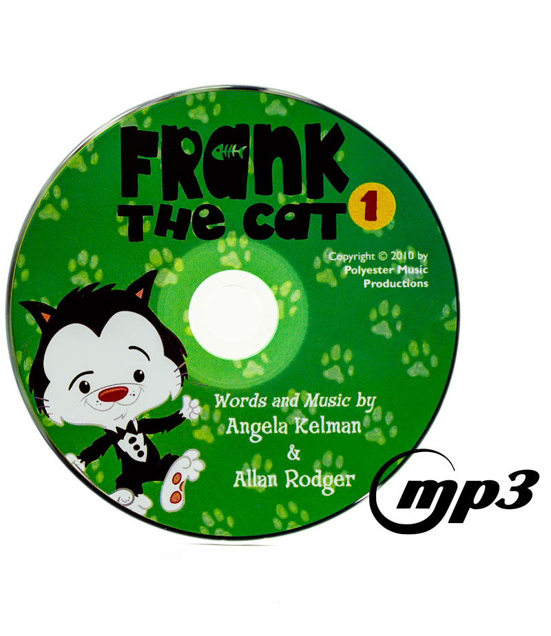 Frank the cat angela kelman sings