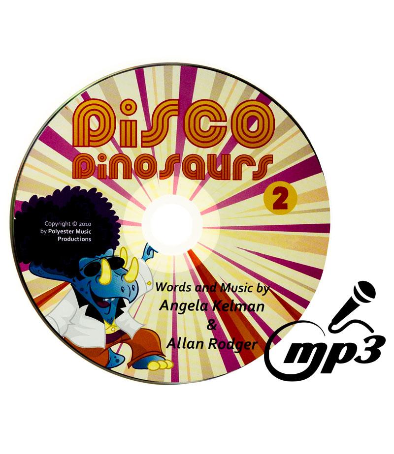 karaoke version of disco dinosaurs