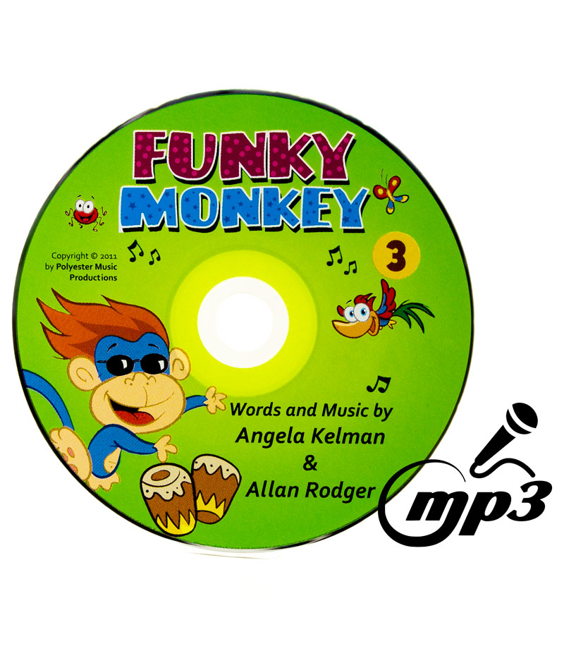 Karaoke version of the funky monkey