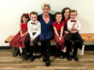 Angela Kelman and Leahy Kids