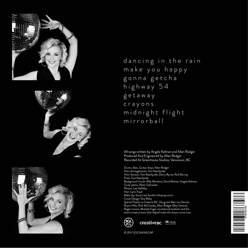Mirrorball Album Cover - Back