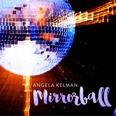 Mirrorball Album Cover - Front - Disco mirrorball in blue and orange